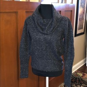 Cozy cowl neck sweater. Like new.